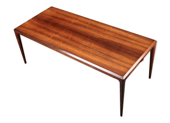 Johannes Andersen Extendable XL Brazilian Rosewood Coffee Table