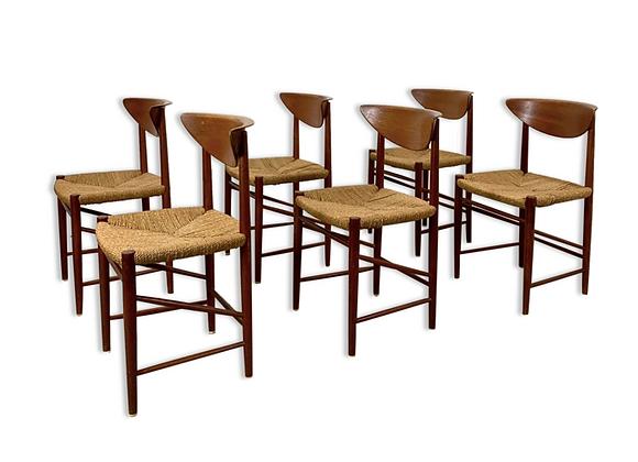 Peter Hvidt & Mølgaard-Nielsen TeakModel 316 Dining Chairs