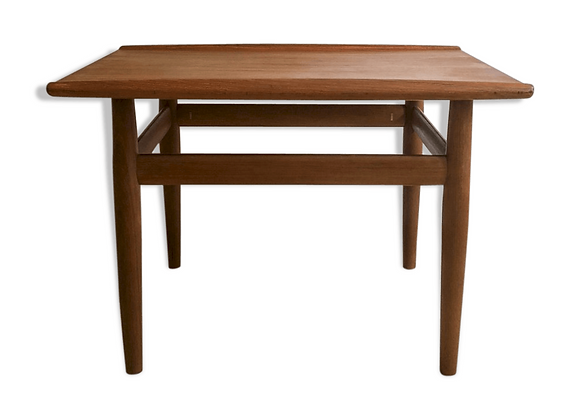 Grete Jalk Teak Coffee Table for Glostrup