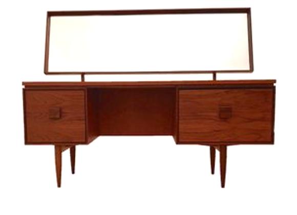 Kofod-Larsen Teak & Palisander Desk & Dressing Table  for G-Plan