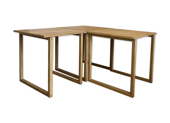 Kai Kristiansen Beech Nesting Tables for Vildbjerg Møbelfabrik