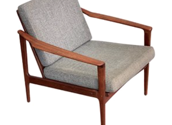 Ib Kofod-Larsen Teak Easy Chair