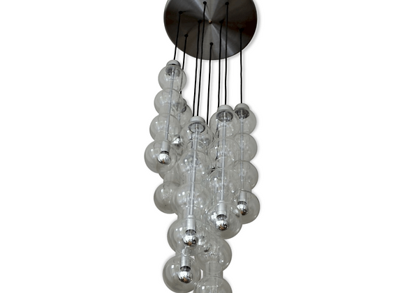 Doria Leuchten Model 4309 Cascade Bubble Lamp