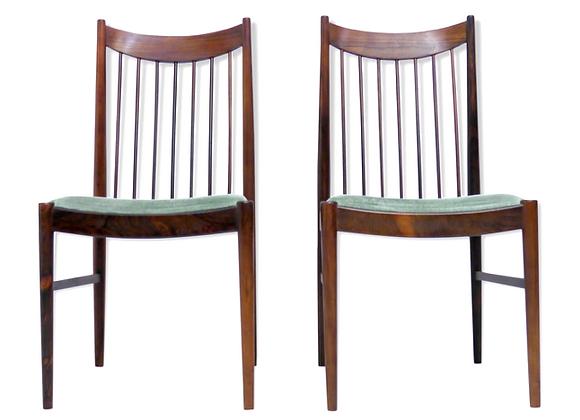 6x Arne Vodder Palisander Chair