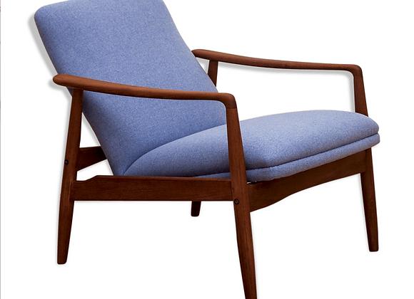 Alf Svensson Teak Lounge Chair for Søren J. Ladefoged