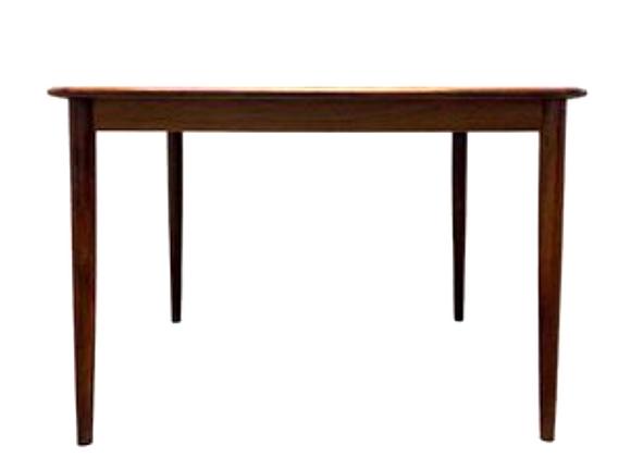 Henry Rosengren Hansen Extendable Palisander Dining Table for Brande