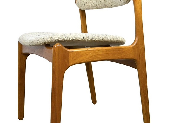 Erik Buch  Teak Dining Chairs for O.D. Møbler, Set of 4