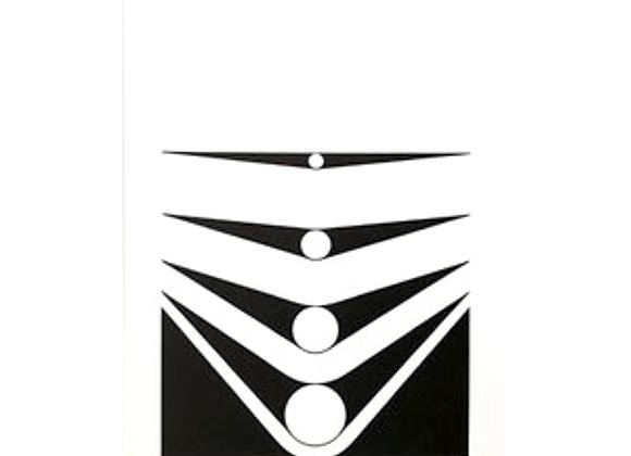 Marcello Morandini Ed. 230 Untitled Serigraph for Panderma
