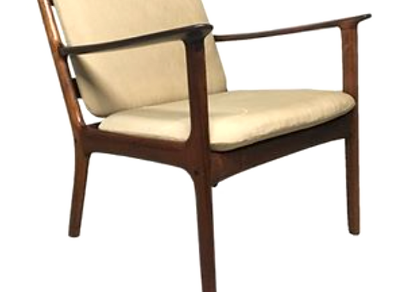 Ole Wanscher Rosewood PJ112 Lounge Chair for P. Jeppesens