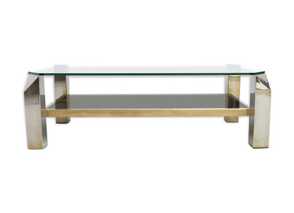 Belgo Chrome Coffee Table