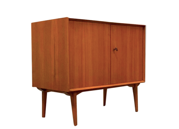 Wilhelm Renz Teak Chest of Drawers / Small Sideboard