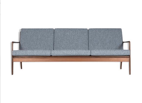 Arne Vodder Afromosia 3-Seater Sofa
