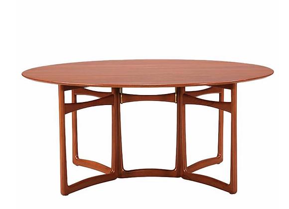 Gate Leg Dining Table by Peter Hvidt & Orla Molgaard