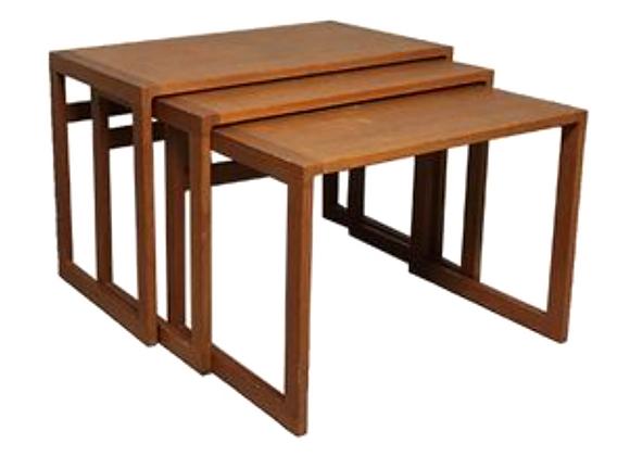 Kai Kristiansen Teak Nesting Tables