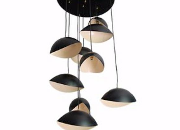Cascade Ceiling Lamp Stilnovo Style