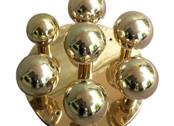 Brass Bubble Ceiling Lamp from Sölken