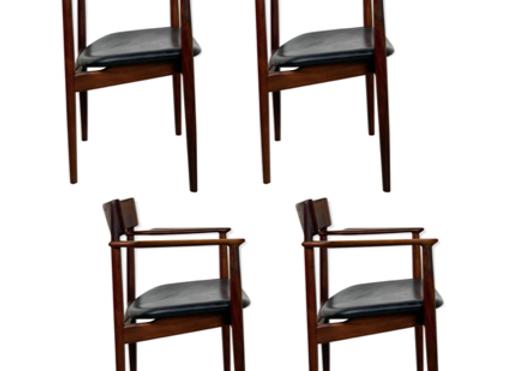 4x Dining Chairs Henry Rosengren Hansen
