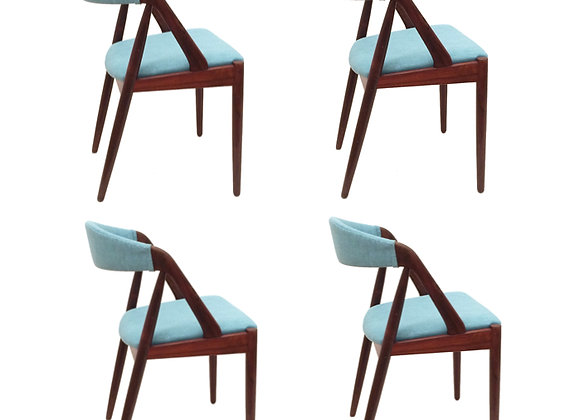 Kai Kristiansen Model 31 Palisander Dining Chairs