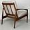 Thumbnail: Pair of Kai Kristiansen Paper Knife Easy Chair in Palisander