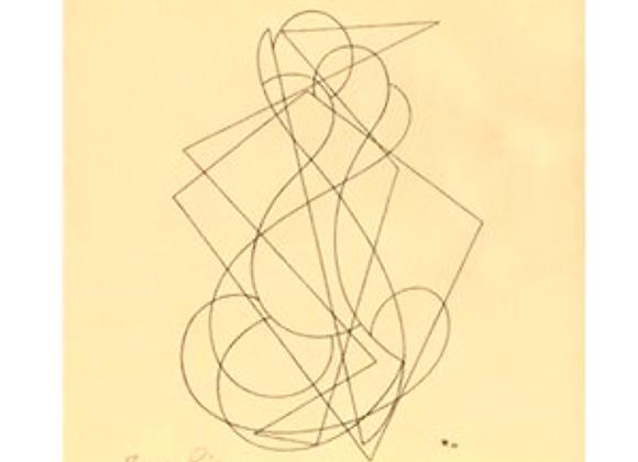 Thomas Ring Woodcut Print for Panderma