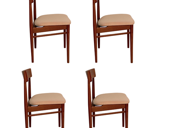 Henry Rosengren Hansen Teak dining chairs