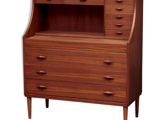 Teak Secretaire from A. L. Johansen & Son