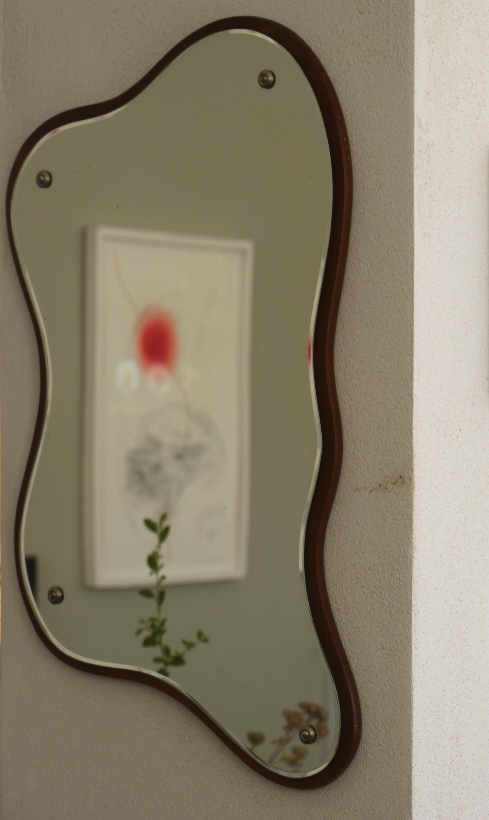 Danish Wall Mirror
