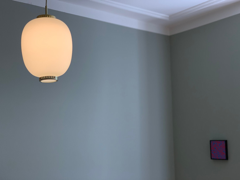 "Bent Karlby for Lyfa ""Kina"" pendant lamp Lamp"