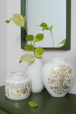 Several Vases