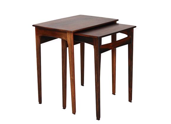 Svend Aage Madsen Palisander Beside Tables