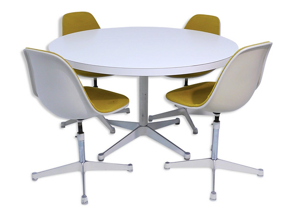 Dining Set by Ray & Charles Eames for Herman Miller
