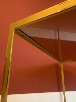 Brass Coffe Table