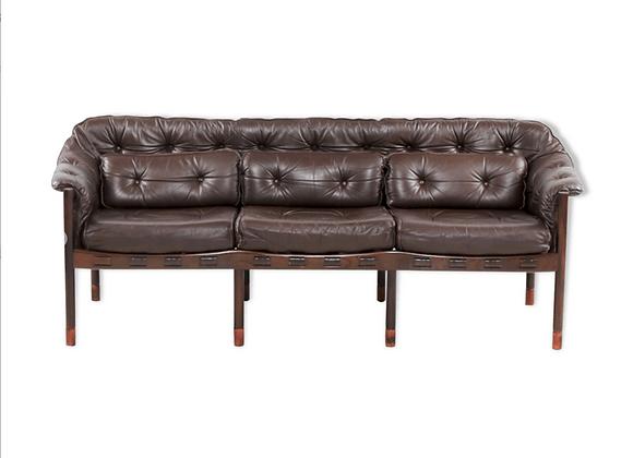 Arne Norell  Model 925 3-Seater Sofa for Coja