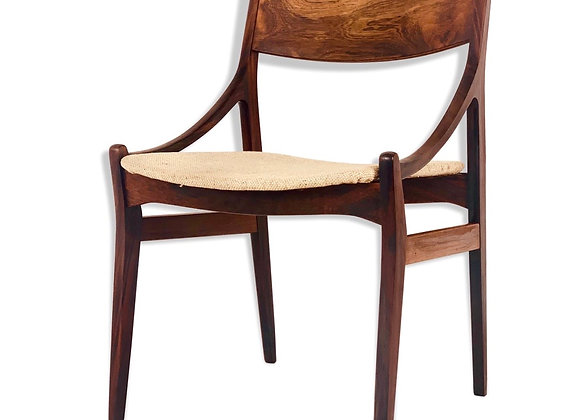 4x Dining Chairs by Vestervig Eriksen in Brazilian Rosewood