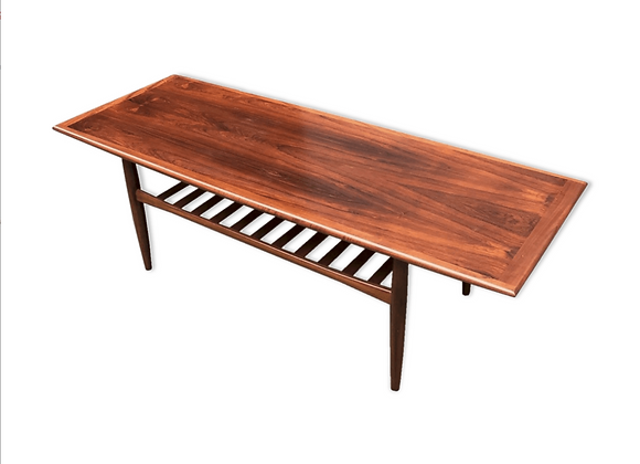 Grete Jalk Palisander Coffee Table for Glostrup