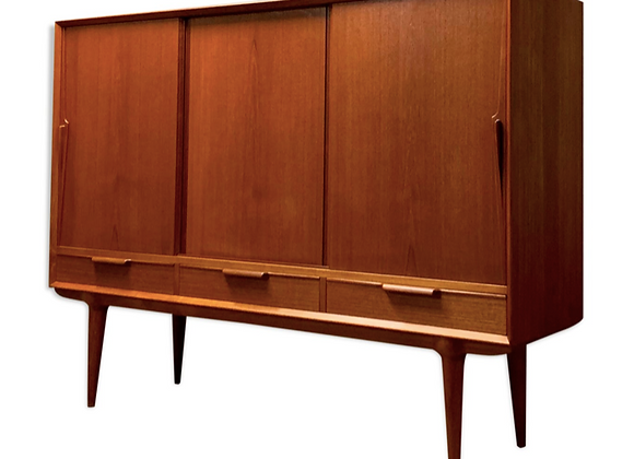 Omann Jun Teak Highboard, Credenza