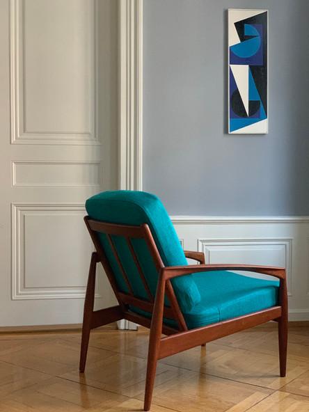 Kai Kristiansen Paper Knife Easy Chair