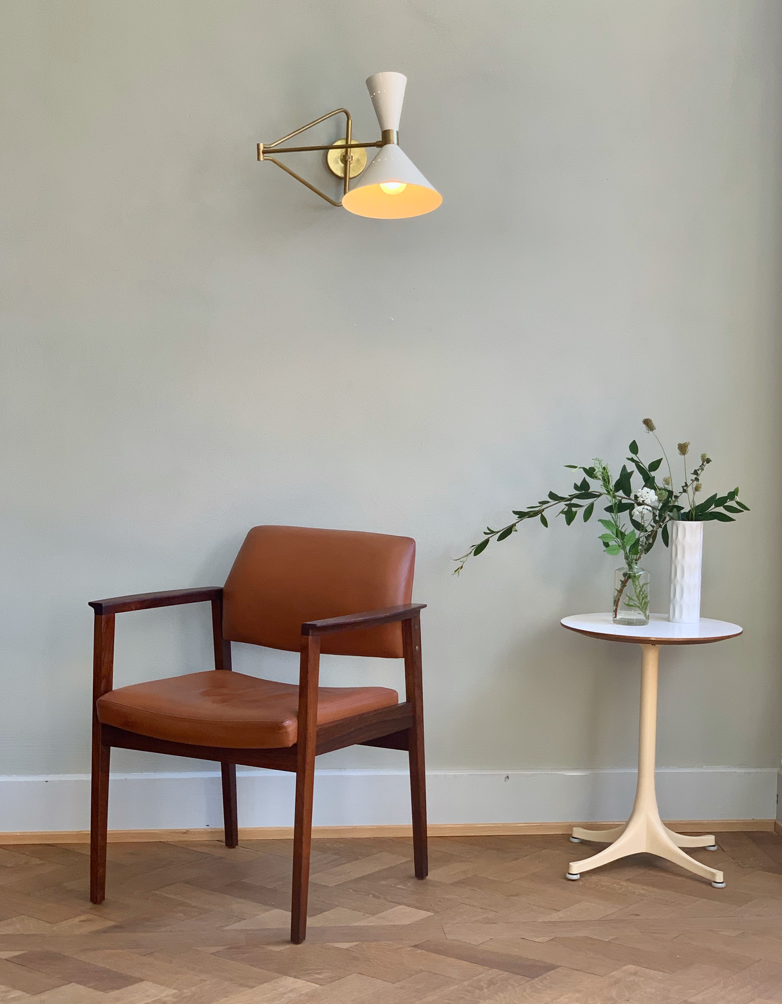 Palisander & Leather Armchair