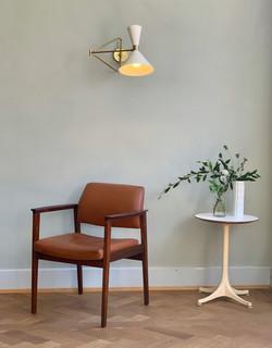 Palisander & Leather Armchair