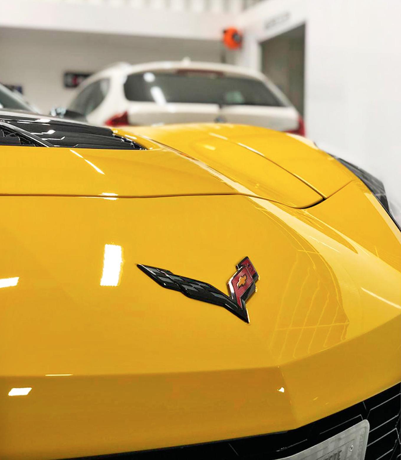 Corvette Z06 - PPF Stek