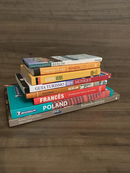 Livros de Viagens  R$5,00 cada