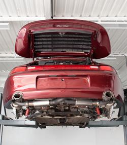 Porsche(1997) -processo de restauração