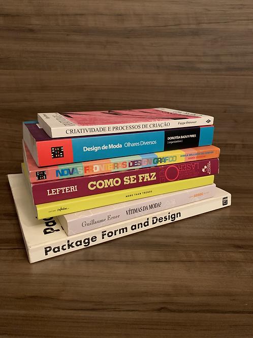 Livros de Design e Moda  R$10,00 cada