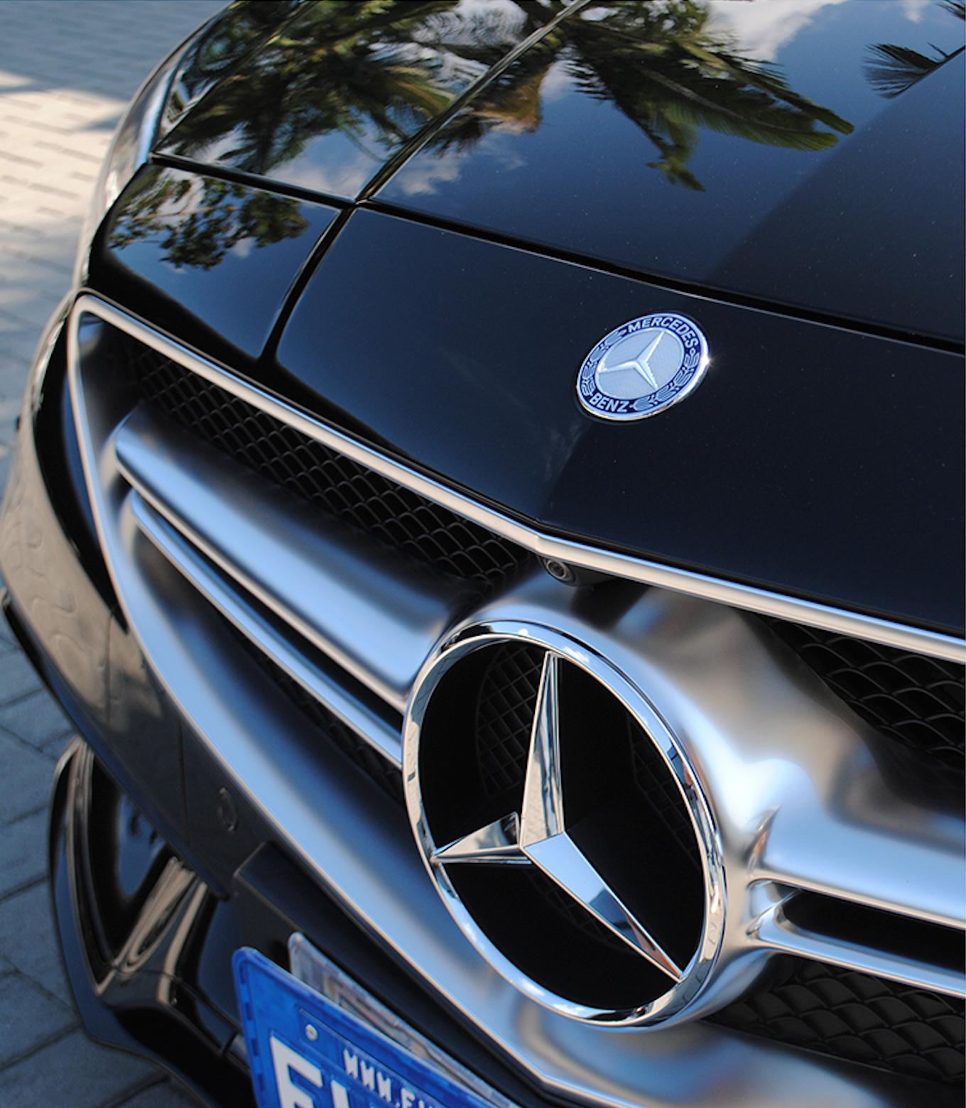 Mercedes CLS - Stek + Ceramic Pro