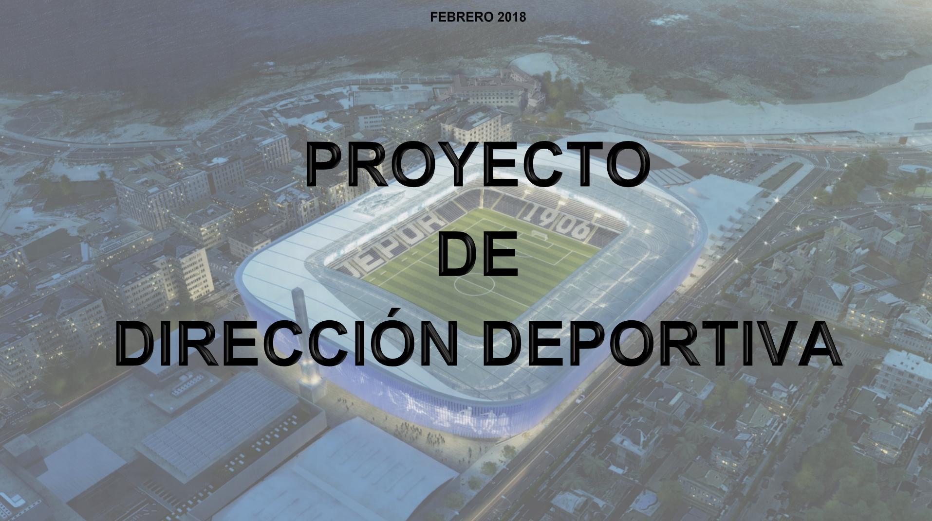 Proyecto de Dirección Deportiva