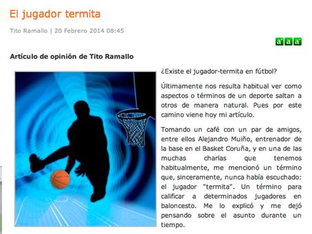 El jugador termita, existe en fútbol?