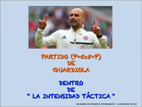 """Tarea de Partido de Guardiola ( P+5x5+P) en la """" IT """"."""