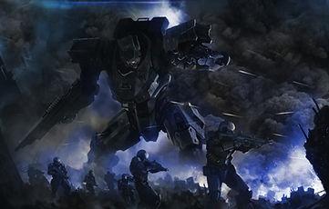 ロボットと兵士