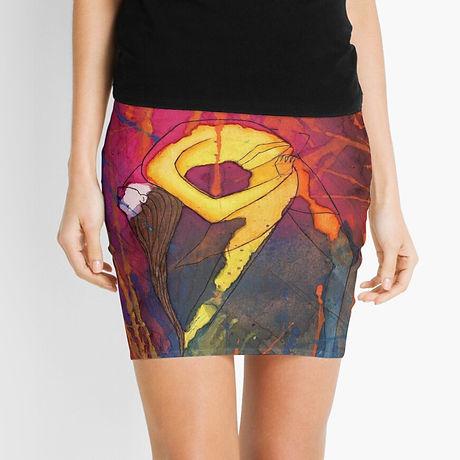 Natasha Kolton Dance It Clothing Mini Skirt