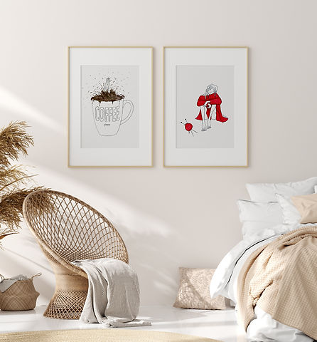Natasha Kolton Stone Touch Prints Wall Art